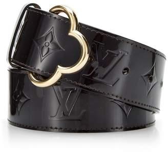 6cb4bed3ec4c Louis Vuitton Terre D Ombre Vernis Leather Ceinture 90