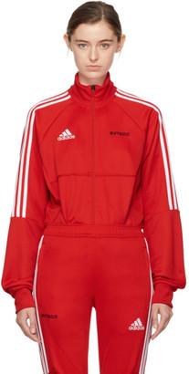 Gosha Rubchinskiy Red adidas Originals Edition Track Jacket $130 thestylecure.com