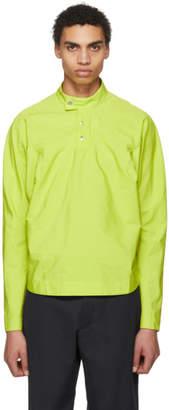 Kiko Kostadinov Green Charriere Shirt