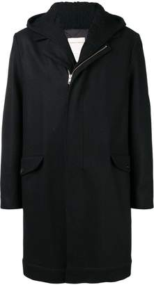 Stephan Schneider Fake hooded coat