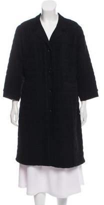 Rochas Wool Long Coat