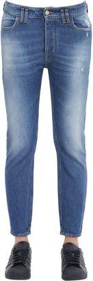Baggy Cotton Denim Jeans $204 thestylecure.com