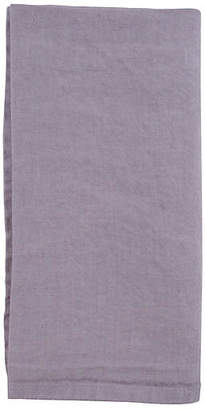Canvas Set of 4 French Linen Dinner Napkins - Lilac