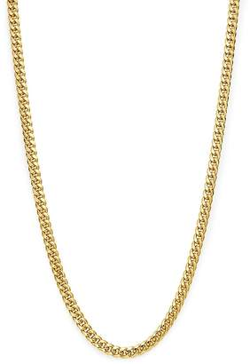 """Bloomingdale's Men's Classic Curb Chain Necklace in 14K Yellow Gold, 24"""" - 100% Exclusive"""