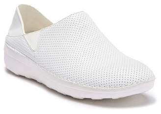 FitFlop Perforated Leather Superloafer