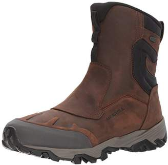 "Merrell Men's COLDPACK ICE+ 8"" Zip Polar WTP Snow Boot"
