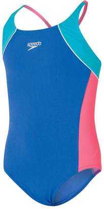 Speedo Girls Cross Back One Piece