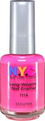 N.y.c. New York Color Long Wearing Nail Polish