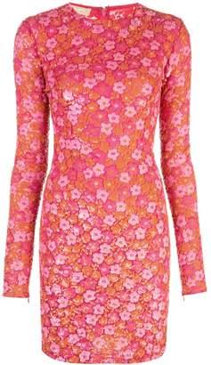 Michael Kors floral embellished dress