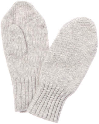Baby CZ Silver Cashmere Mittens
