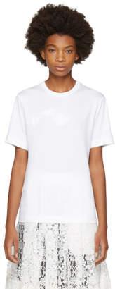 Simone Rocha White Padded Daisy T-Shirt