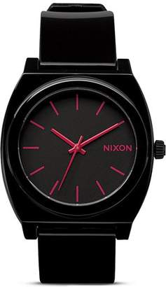 Nixon The Time Teller Buckle Strap Watch, 40mm