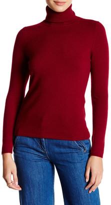 In Cashmere Turtleneck Cashmere Sweater $197 thestylecure.com