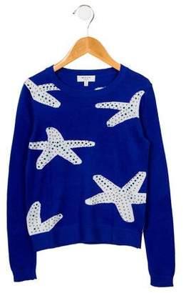 Milly Minis Girls' Intarsia Sweater