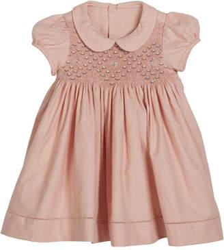 Luli & Me Smocked Short-Sleeve Dress, Size 6-24 Months