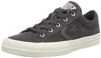 89211d3a418 Converse Unisex Adults  Star Player OX Almost Black Trainers