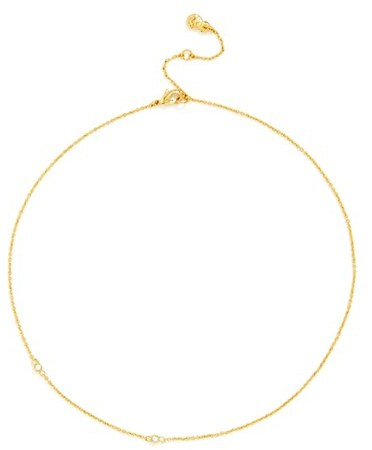 Women's Baublebar 'Semelle' Pendant Necklace & Chain (Set Of 2) 3