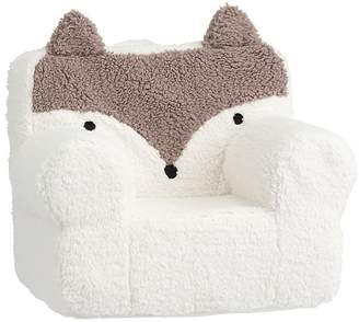 Pottery Barn Kids My First Taupe Fox Anywhere Chair® Slipcover Only