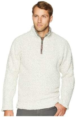 True Grit Frosty Tipped Pile 1/4 Zip Pullover Men's Clothing