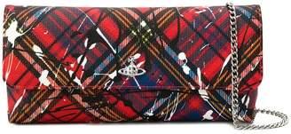 Vivienne Westwood Tartan clutch bag