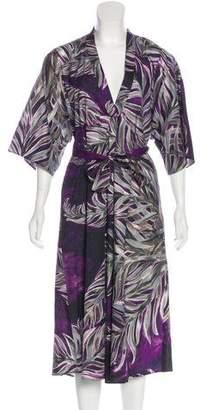 Tome Printed Midi Dress