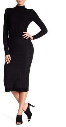 ATM Anthony Thomas Melillo Wool Blend Tube Sweater Skirt