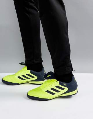 adidas Football Copa Tango 17.3 Astro Turf Sneakers In Yellow Bb6099