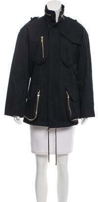 Alexandre Vauthier Short Oversize Coat