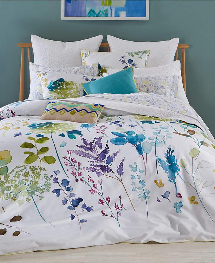 bluebellgray Botanical Garden Cotton 2-Pc. Twin/Twin Xl Duvet Cover Set Bedding