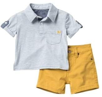 66aeda7c9 Joe's Jeans Collared Shirt & Shorts Set (Baby Boys)