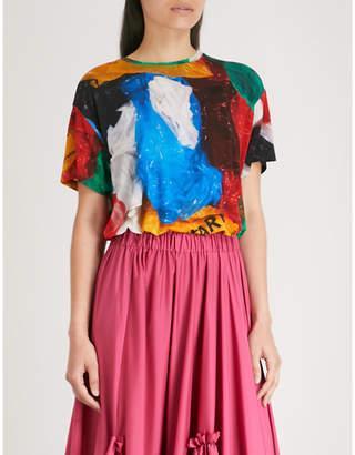 Vionnet x Marc Quinn plastic bag stretch-jersey T-shirt