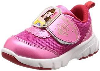 Disney (ディズニー) - [ディズニー] 運動靴 通学履き プリンセス マジック 軽量 キッズ DN C1221 チェリー 19 cm 2E
