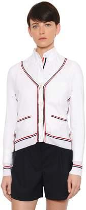 Thom Browne Fine Merino Wool Knit Cardigan