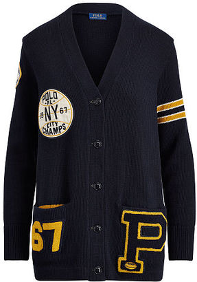 Polo Ralph Lauren Collegiate Boyfriend Cardigan $298 thestylecure.com