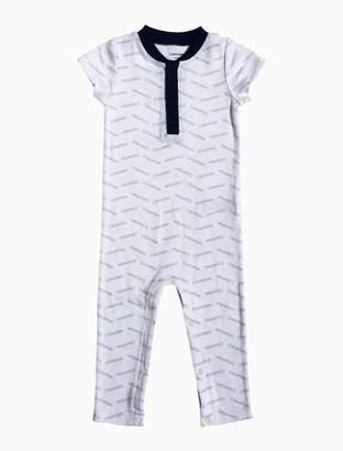 Calvin Klein baby boys shortalls
