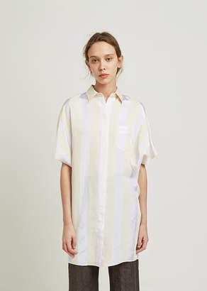 Aspesi Cream Stripe Tunic