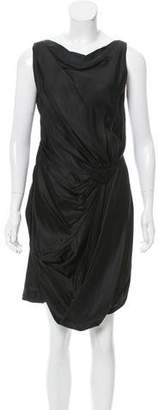 Sophia Kokosalaki Draped Satin Dress