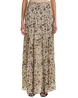 A.L.C. Suarez Silk Maxi Skirt
