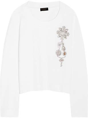 Burberry Cotton-jersey Sweatshirt