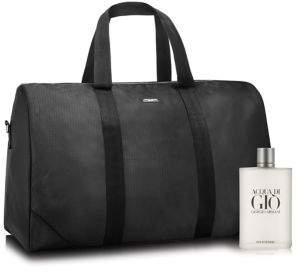 Giorgio Armani Acquadi Gio Homme King Size and Duffle Bag Set- $255.00 Value