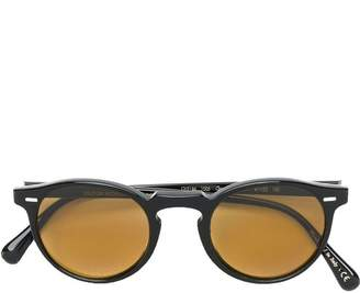 Oliver Peoples Gregory Peck round-frame sunglasses