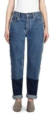 Acne Studios Dip-Dye Distressed Jeans