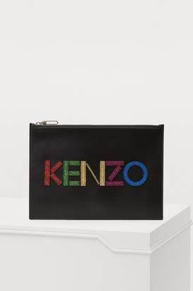 Kenzo Christmas A4 pouch