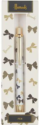 Harrods Falling Bow Pen