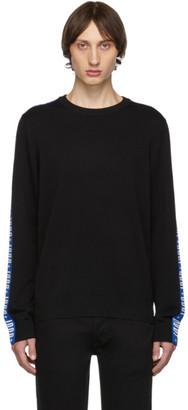 Diesel Black K-Tracky-B Sweater
