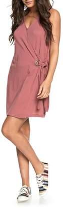 Roxy Rhythm of Luck Cotton Shift Dress