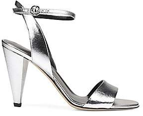 Via Spiga Women's Ria Metallic Leather Sandals