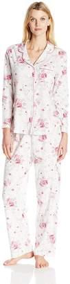 Karen Neuburger Women's Long-Sleeve Girlfriend Pajama Set PJ