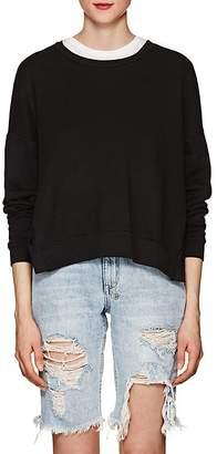 NSF Women's Rubin Side-Snap Cotton Sweatshirt