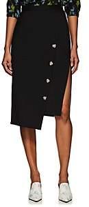 Altuzarra Women's Faro Asymmetric Wool Skirt - Black